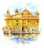 The Golden Temple Sri Harmandir Sahib — Stock Photo