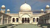 White Arabian palace — Stock Photo
