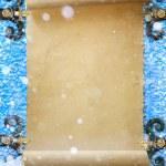 Art abstract Christmas Snow fantasy background — Stock Photo #53964905