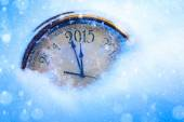 Art 2015 christmas and new years eve   — Stock fotografie