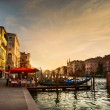 Grand Canal after sunset, Venice - Italy — Stock Photo #56883439