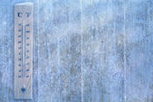 Art winter weather background — Stock Photo