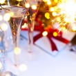 Art Christmas or new years party — Stock Photo #59399041