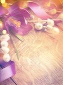 Art Easter background — Stock Photo