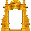 Medieval gold frame — Stock Photo #64087959