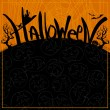 Halloween background — Stock Vector #53739281