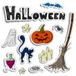 Halloween background — Stock Vector #53750575