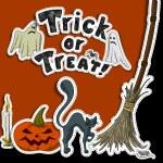 Halloween background — Stock Vector #54350519