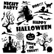 banderas de Halloween — Vector de stock  #55388403