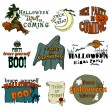 Halloween banners — Stock Vector #55389161