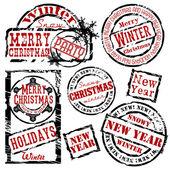 Noel pulları — Stok Vektör