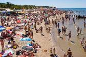 Palanga beach — Stock Photo