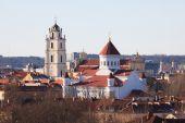 Vilnius churches — Stock Photo