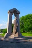 Monument of Baranauskas — Stock Photo