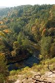 Vilnia river — Stock Photo