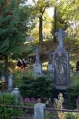 Rasu cemetery — Stock Photo
