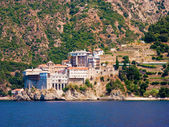 The holy monastery of Gregoriou — Stock Photo