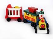 игрушечный поезд — Стоковое фото
