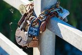 Liefde sloten — Foto de Stock