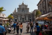 Piazza Duomo in Catania — Stock Photo