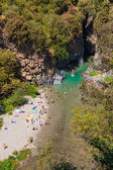 Alcantara Gorge — Stock Photo