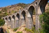 Old bridge in Sicily — Stock Photo