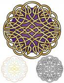 Celtic Knot Mandala — Stock Vector