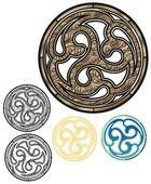 Bronze Emblem — Stock Vector