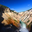 Grand Canyon of the Yellowstone River — Stock Photo #53759837