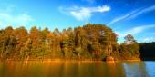 Sweeney Lake Northwoods Wisconsin — Stock Photo