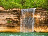 Spray Falls Northwoods Michigan — Stock Photo