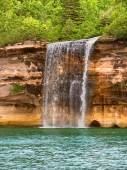 Pictured Rocks National Lakeshore Michigan — Stock Photo