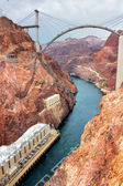 Colorado River Hoover Dam — Stock Photo