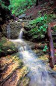 Kishwaukee Gorge Waterfall Illinois — Stock Photo