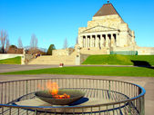 Eternal Flame Shrine of Remembrance — Stock Photo