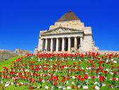 Shrine of Remembrance Melbourne Australia — Stockfoto