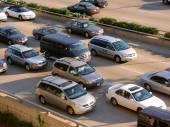 Chicago Lake Shore Drive Traffic — Stock Photo