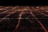 Las Vegas Overhead View — Stock Photo
