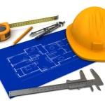 House blueprints — Stock Photo #54163887