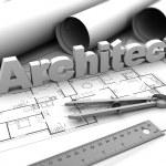 Architect sign — Stock Photo