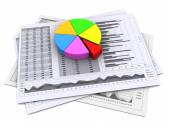 Business reports — Stock Photo