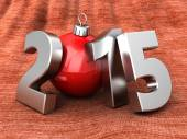 2015 new year and Christmas — Stock Photo
