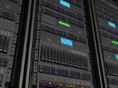 Servers background — Stock Photo