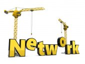 ネットワーク構築の構想 — ストック写真