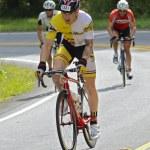 Amateur Cyclists — Stock Photo #54542125