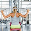 Young woman training in the gym — Stock Photo #52015431