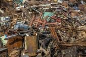 Pilha de lixo — Foto Stock