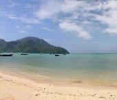 Plage de la mer d'andaman — Photo