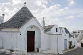 Trulli houses of Alborebello — Stock Photo