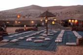 Beduínské vesnice — Stock fotografie